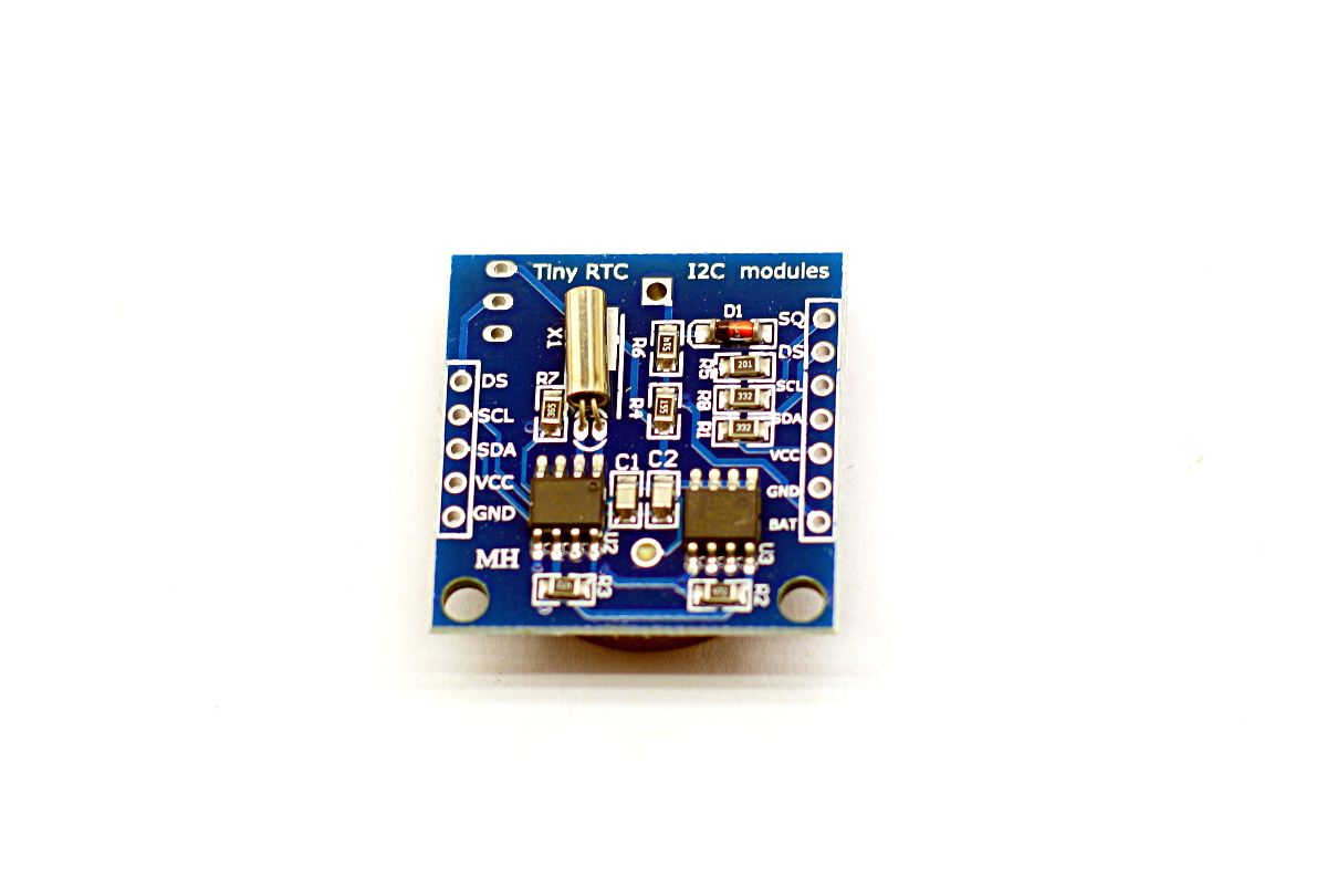 Real Time Clock Module Ds1307 Kp02040 190eur Digital Using Pic Microcontroller And Rtc Spending Too Much Source The Ds18b20 Interface With Pull Up Resistor Embeded Will Be Helpful To Extend Temperature Monitoring